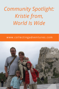 Community Spotlight: Kristie form World Is Wide