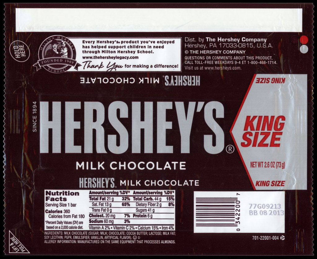 All Your King Size Hershey Are Belong To Us