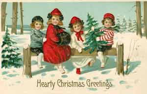 Early Christmas Cards - Collection Connections