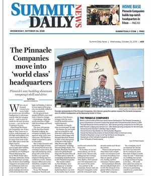 Summit Daily News The Pinnacle Companies moves to Frisco
