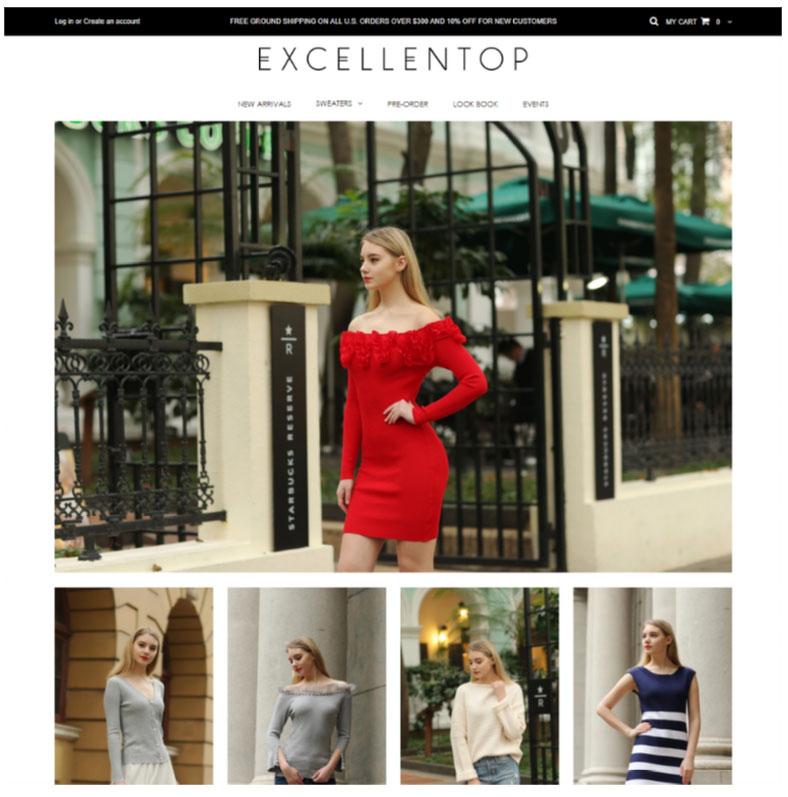 shopify web design portfolio