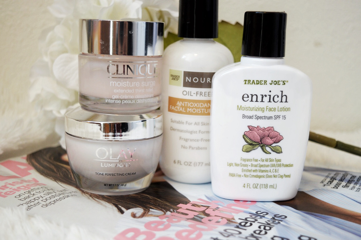 Moisturizing Skin Care Products