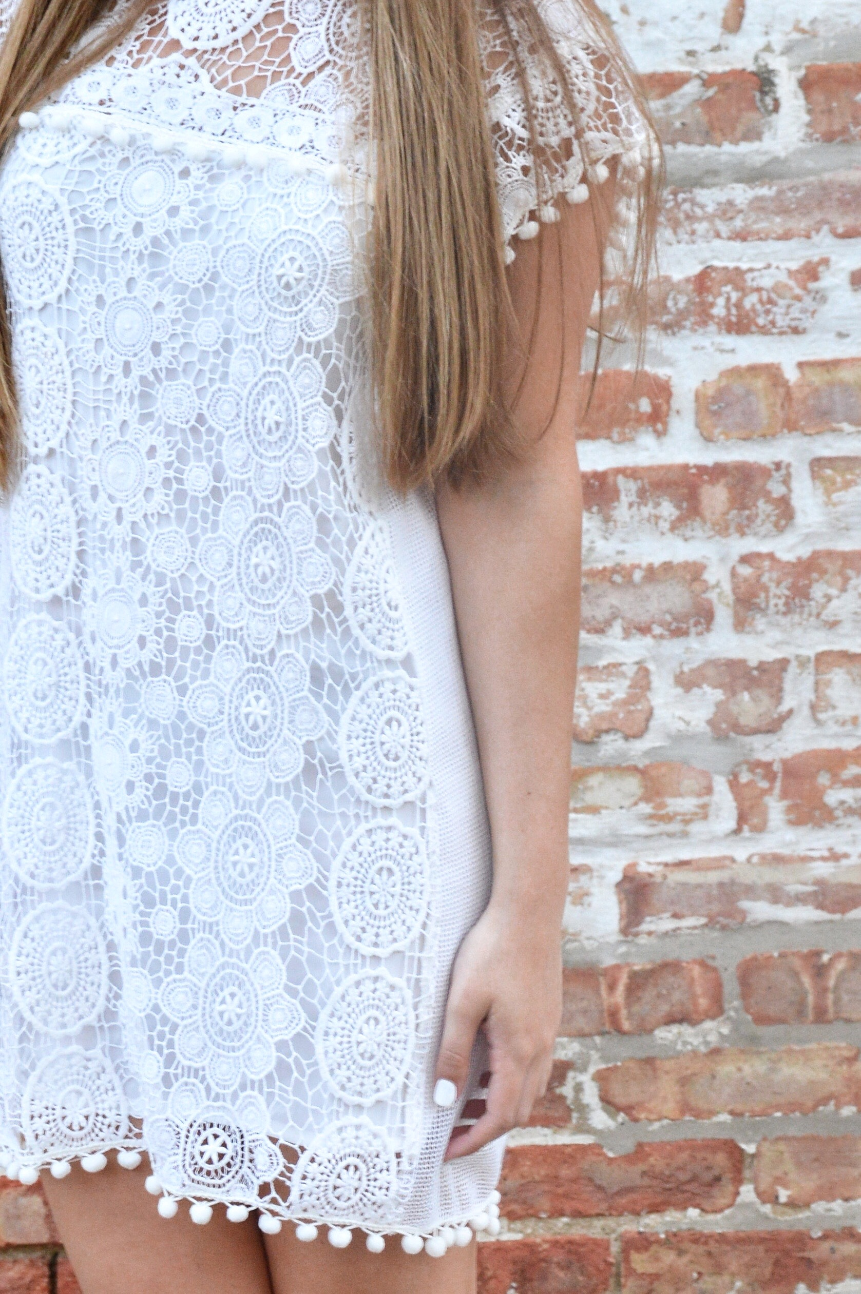 Little White Graduation Dress