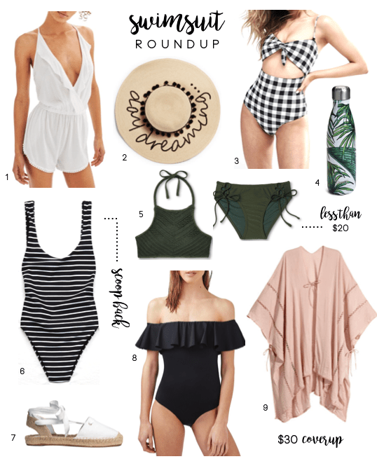 Swimsuit and Beach Accessories Roundup
