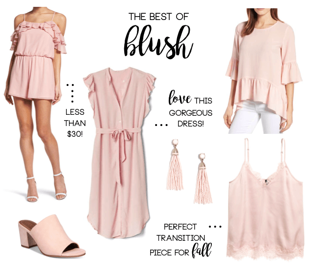 The Best of Blush + How to Style for Fall