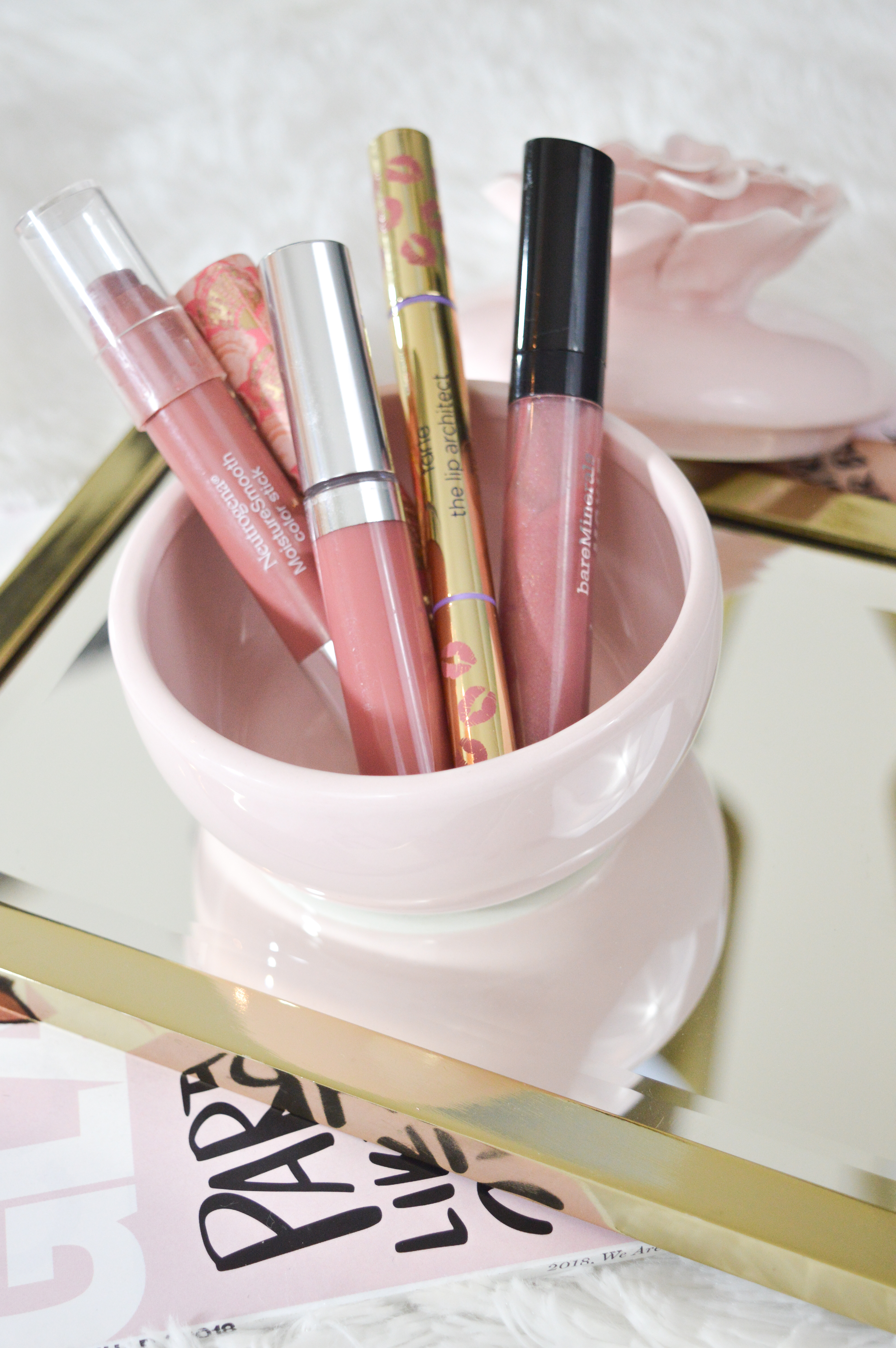 Everyday Neutral Lipsticks and Lipglosses
