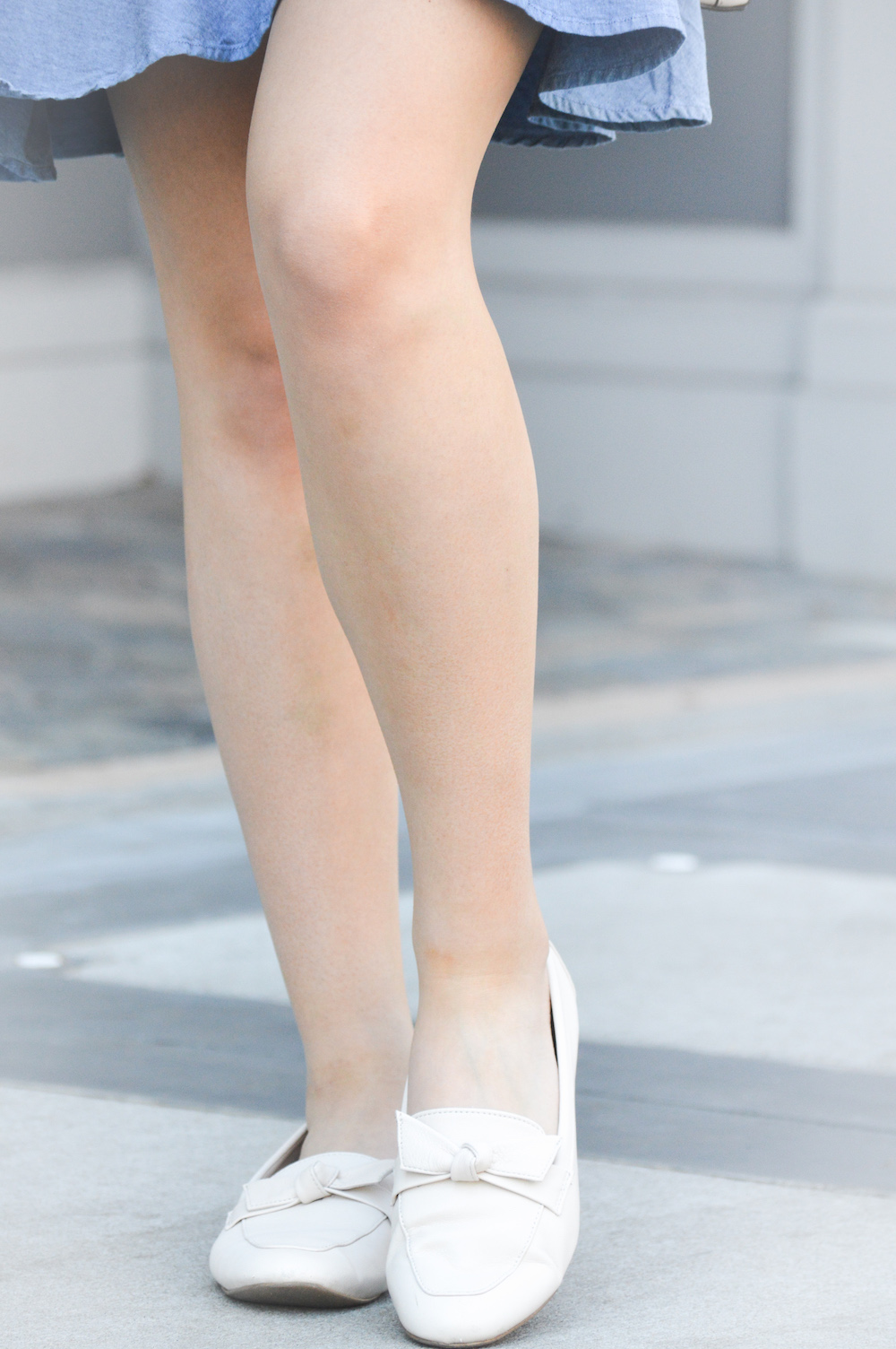 Comfortable and Cute Nude Loafers
