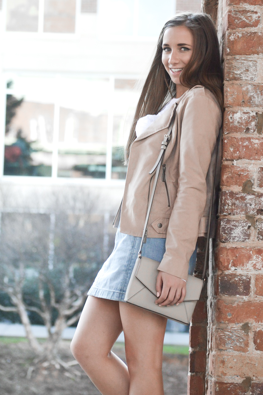 Cute Moto Jacket Styled for Summer