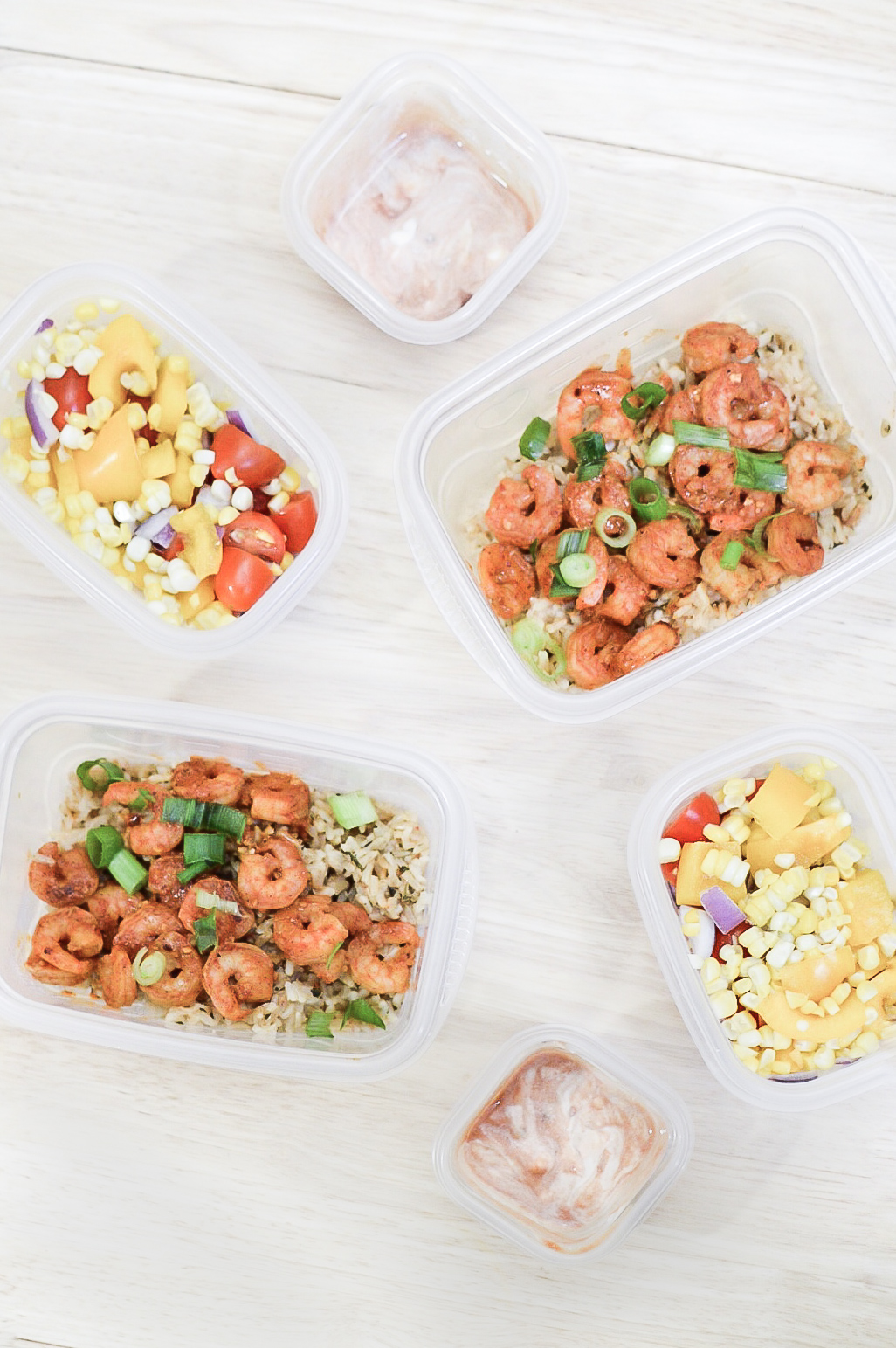 Chili Lime Shrimp Burrito Bowls