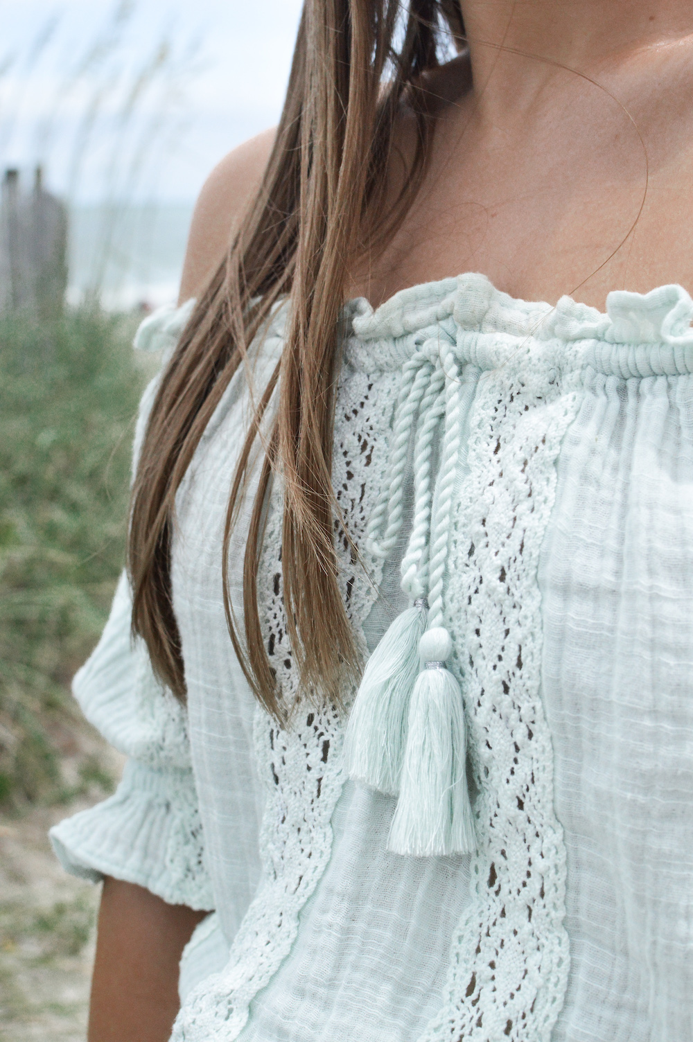 Boho Off the Shoulder Top
