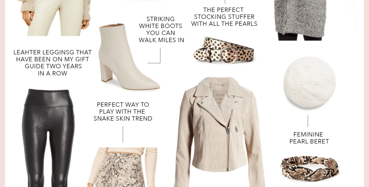 Holiday Gift Guide for the Trendsetter