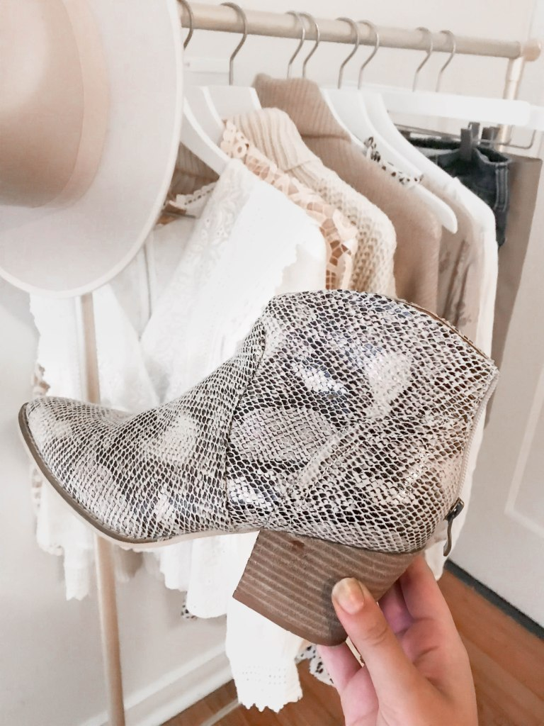 Fall and Winter Statement Booties for a Pop in Your Fall and Winter Capsule Wardrobe