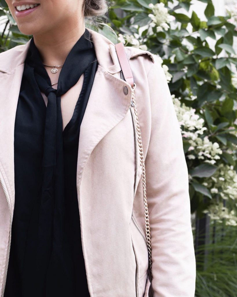 Cute and Trendy Fall and Winter Jackets: Faux Suede Moto Jacket