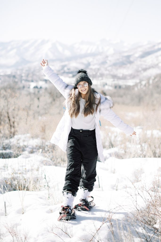 What to Do in Park City Utah: Snow Shoe Hiking