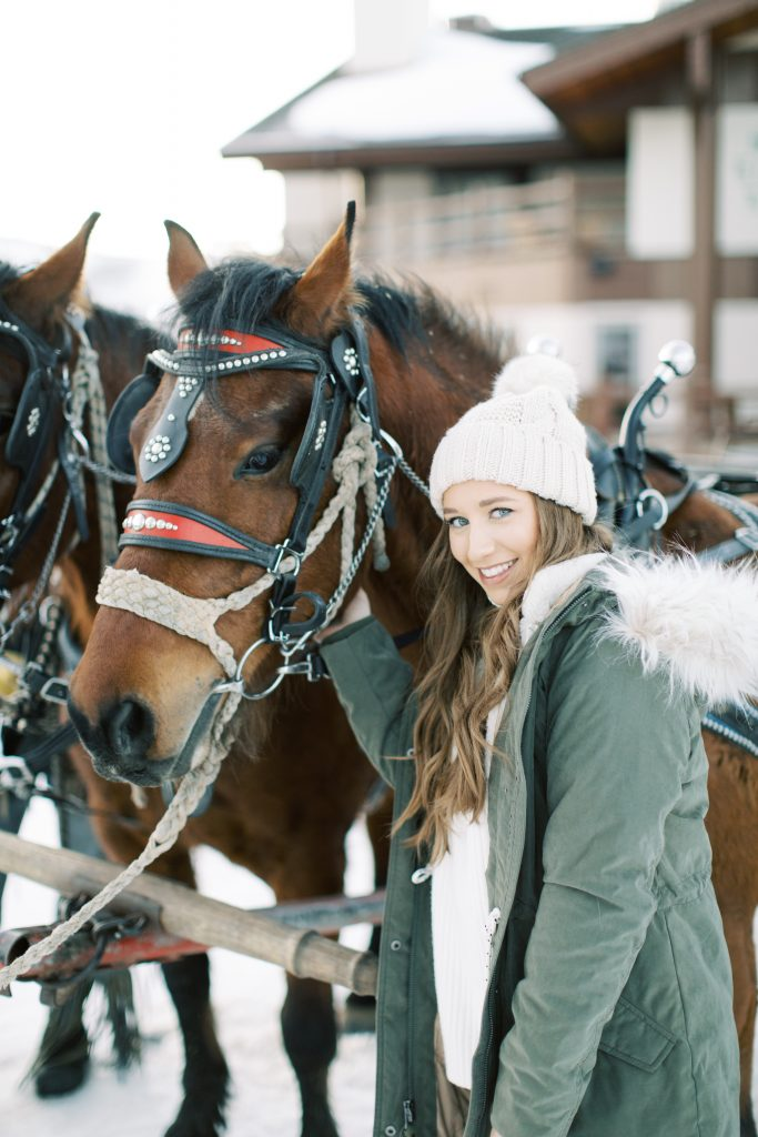 What to Do in Park City Utah: Horse Drawn Carriage Ride