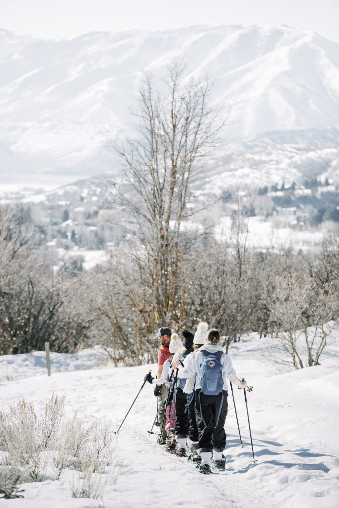 Park City Utah Travel Guide: Snow Shoe Hiking in the Mountains