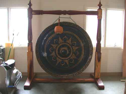 Bells, Gongs and Drums > Gongs > Authentic Buddhist Bronze Temple Gong ...