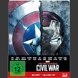 The First Avenger: Civil War – 3D+2D Steelbook Edition / Disney