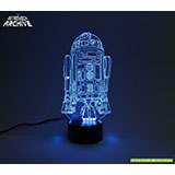 R2-D2 LED Acrylic light