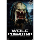 Wolf Predator / Legendary Scale Bust / Sideshow Collectibles