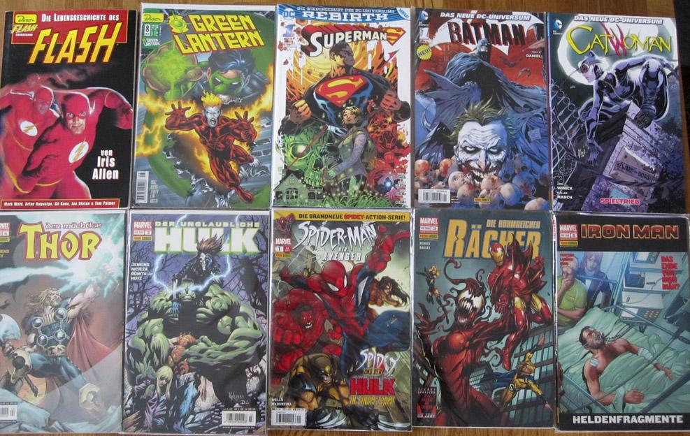 Marvel und DC Comics