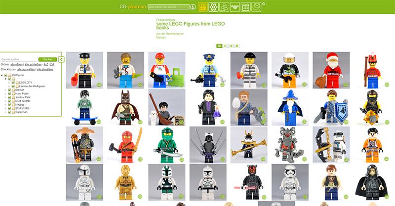 LEGO Minifiguren-Präsentation