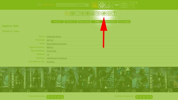 """""""News"""" Icon auf der Detailseite"""