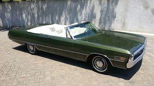 1970 Chrysler 300 Convertible For Sale Monroe, Geia