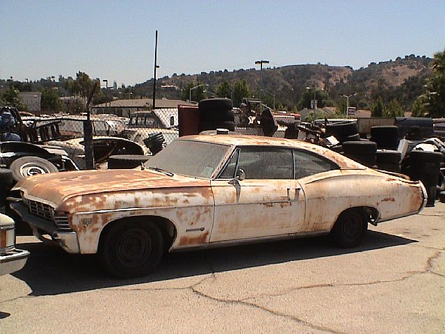 1967 Chevy Impala Black Interior