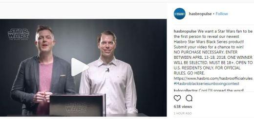 Hasbro Pulse Instagram Unboxing contest