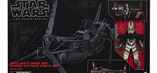 Black Series Enfys with Nest Swoop Bike