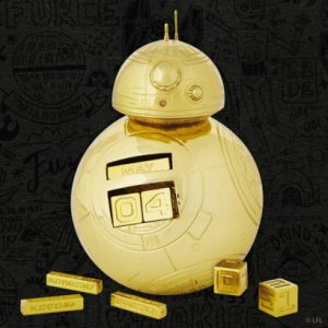 Hallmark Comic Con exclusive golden BB-8 perpetual calendar