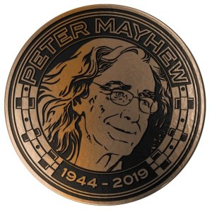 Peter Mayhew Memorial Challenge Coin