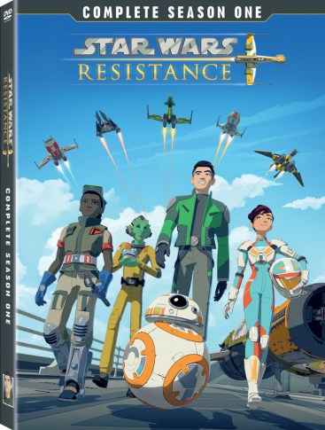Season 1 of Star Wars Resistance Comes to DVD on August 20