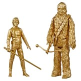 STAR WARS SKYWALKER SAGA 3.75-INCH Figure 2-Packs LUKE SKYWALKER & CHEWBACCA - oop