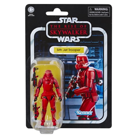 STAR WARS THE VINTAGE COLLECTION 3.75-INCH Figure Assortment SITH JET TROOPER - in pck