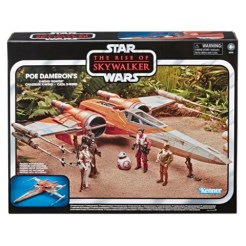 STAR WARS THE VINTAGE COLLECTION POE DAMERON'S X-WING FIGHTER Vehicle - in pck