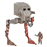 STAR WARS THE VINTAGE COLLECTION THE MADALORIAN AT-ST RAIDER Vehicle - oop (1)