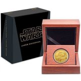 New Zealand Mint gold Lando 1/4 oz coin