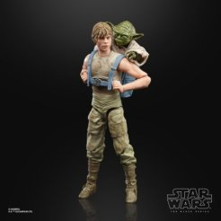 STAR WARS THE BLACK SERIES 6-INCH LUKE SKYWALKER AND YODA (JEDI TRAINING) DELUXE Figures - oop (4) (Small)