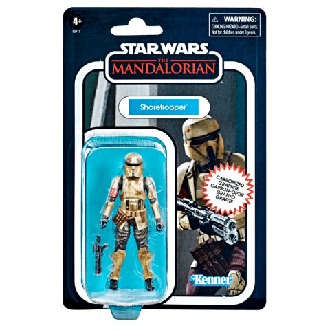 STAR WARS THE VINTAGE COLLECTION CARBONIZED COLLECTION 3.75-INCH SHORETROOPER_in pck 2