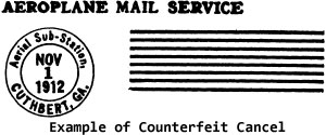 Example of Counterfeit Cancel