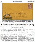 A New Confederate Steamboat Handstamp