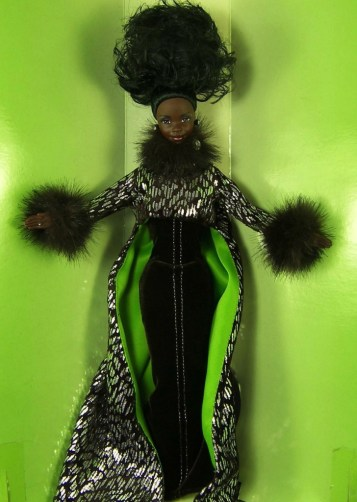 "This Barbie Collector edition doll, called ""In the Limelight"" the first featuring clothing by black designer Byron Lars, got Debra Britt's sister Kareema Thomas out of her hospital bed to hunt for dolls in 1997."