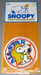 Snoopy on one knee 'All-star' Auto Air Freshener