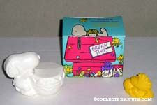Snoopy and Woodstock Easter Soaps