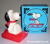 Snoopy Snow Flyer Bubble Bath