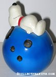 Snoopy on Bowling Ball