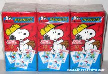 Snoopy & Charlie Brown Baseball Tissue Packs
