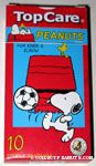 Snoopy kicking soccer ball Knee & Elbow Sterile Bandages